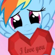 My Little Pony Valentine Party