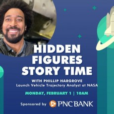 Wesley Chapel-Lutz, FL Events for Kids: National] NASA Story Time: Hidden Figures with Phillip Hargrove