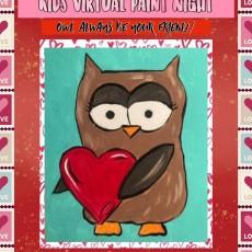 Kids Virtual Paint Night