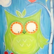Things to do in Myrtle Beach, SC for Kids: ART BUZZ KIDS: NEON OWL - IN STUDIO CLASS 11AM-12:30, Wine & Design - Market Common