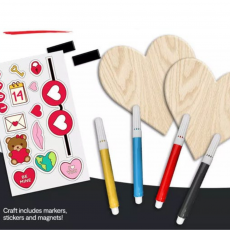 Kids Zone Valentine Craft Kit