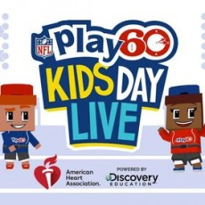 Towson, MD Events for Kids: [National] NFL PLAY 60 Kids Day