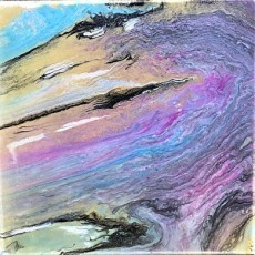 Things to do in Olathe, KS for Kids: Acrylic Pour Painting, First Art Gallery of Olathe