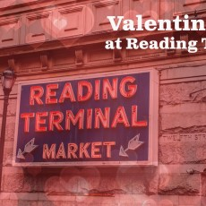 Valentines Day at Reading Terminal Market