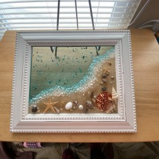 Warwick, RI Events for Kids: Beach & Ocean Resin Art Class