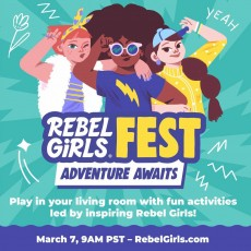 Get Inspired at Rebel Girls FEST