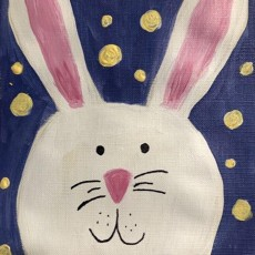 Learn to Paint a Cute Bunny