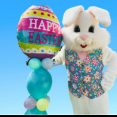 Things to do in Myrtle Beach, SC for Kids: Easter Bunny Experience, Broadway at the Beach