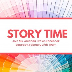 Things to do in Warwick, RI for Kids: Virtual Storytime: Colors, Davisville Free Library