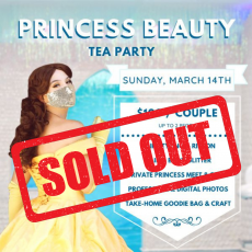 Things to do in Cape May County, NJ for Kids: Princess Beauty Tea Party, Bowfish Studios