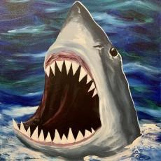 Wesley Chapel-Lutz, FL Events: In-Studio Paint Class - Shark Bite