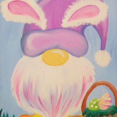 Wesley Chapel-Lutz, FL Events: In-Studio Paint Class - Hunting Eggs with My Gnomie