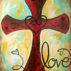 Wesley Chapel-Lutz, FL Events: In-Studio Paint Class - Unconditional Love