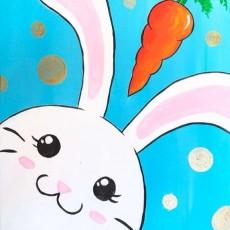 Wesley Chapel-Lutz, FL Events: In-Studio Paint Class - Funny Bunny