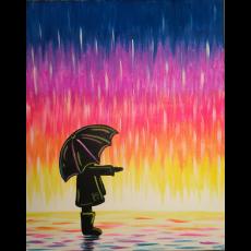 Wesley Chapel-Lutz, FL Events: In-Studio Paint Class - Sunset Showers