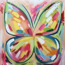 Wesley Chapel-Lutz, FL Events: In-Studio Paint Class - Radiant Butterfly