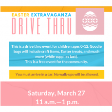 Things to do in Richmond South, VA for Kids: Easter Extravaganza Drive Thru, Bensley Park and Community Building