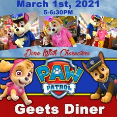 Things to do in Deptford-Monroe Township, NJ: Dine with PAW PATROL