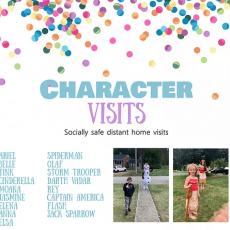 Shrewsbury-Marlborough, MA Events: Character Visits & Greetings