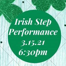 Irish Step Dance Performance