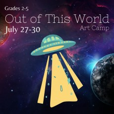 Out of this World Summer Art Camp
