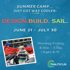 Design. Build. Sail. Summer Camp 2021