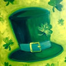 Paint a Leprechaun Hat