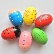 Musical Easter Eggs Shakers