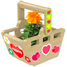 Burnsville-Shakopee, MN Events: Take & Make: Basket Planter Kit