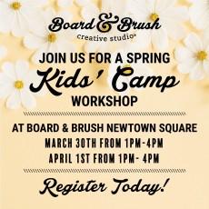 Spring Break KIDS workshop!