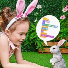 Learn to Code an Answering Easter Bunny