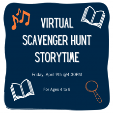 Virtual Scavenger Hunt Storytime