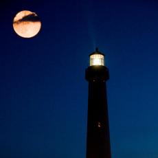 Cape May County, NJ Events: Full Moon Lighthouse Climb