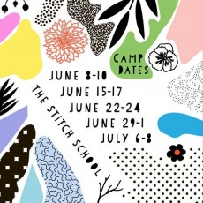 Peace+Love+Sew Stitch Camp for Girls Ages 9+