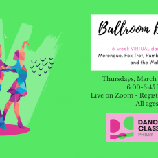 Ballroom Dance Lessons with Dancing Classrooms Philly