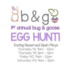 1st Annual Egg Hunt