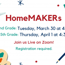 HomeMAKERs for 3rd to 5th Grade