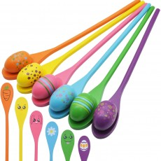 Easter Egg and Spoon Race Game Set