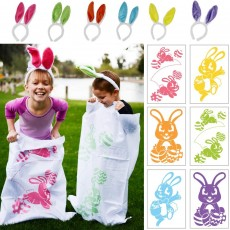 Easter Sack Race Set with Bunny Ears