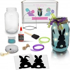 Easter Mason Jar Lantern Craft Kit