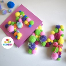 Make a Mother's Day Pom-Pom Craft