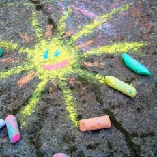 Things to do in Rock Hill, SC: Sidewalk Chalk