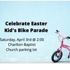 Easter Bike Parade for Kids