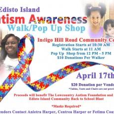 Edisto Island Autism Awareness Walk/Pop Up Shop