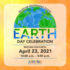 Worcester, MA Events: EcoTarium Reopening - Earth Day Celebration