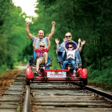Cape May County, NJ Events: Go Railbiking in Cape May *Hours Vary