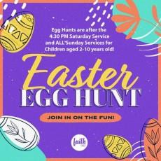 Easter for 508 - Service & Egg Hunt