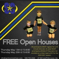 Worcester, MA Events: Spirit Central Open House