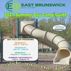 Registration opens for all camps on April 6th and must be done online - registration.eastbrunswick.org