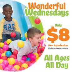 Things to do in Towson, MD for Kids: $8 Wonderful Wednesday, Hyper Kidz Baltimore
